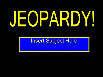 220 best Spanish Smart Board Lessons images on Pinterest - sample jeopardy powerpoint