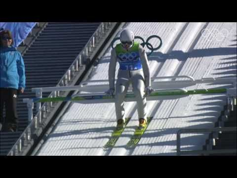 ▶ Germany - Team Ski Jumping Large Hill - Vancouver 2010 Winter Olympic Games - YouTube [Olympic Ski Jumping]