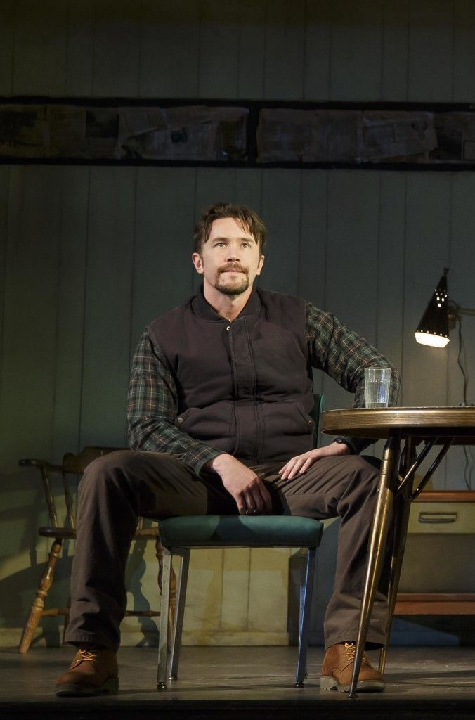Tom Pelphrey in 'Fool for Love.' Photo: Joan Marcus