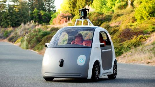 """Google has revealed the first functional prototype of its new self-driving car, following the debut of the """"early mockup"""" earlier this year."""
