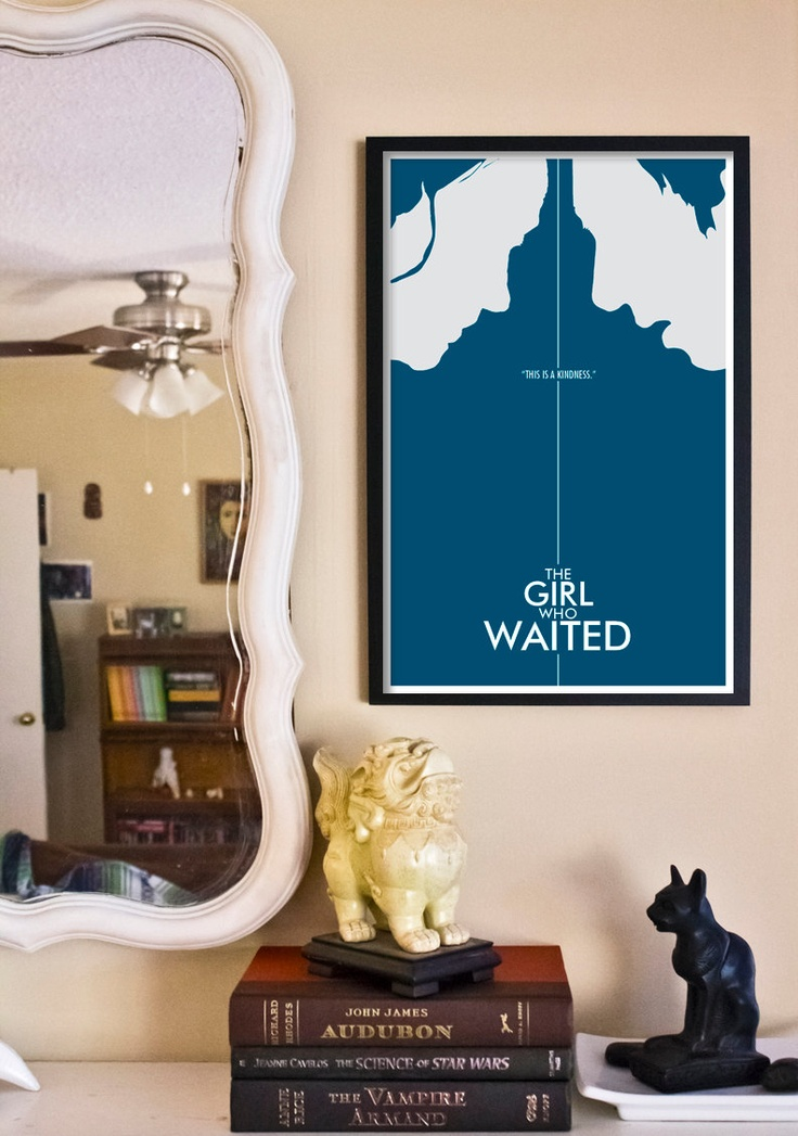 "Doctor Who Poster: The Girl Who Waited - 11""x17"" Science Fiction Art Print. $18.00, via Etsy."