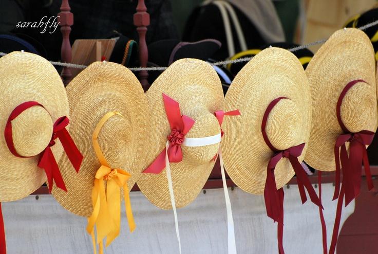 Straw Hats In Colonial Williamsburg Va Williamsburg