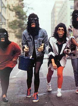 How and Why Did the Guerrilla        Girls Alter the Art World       Establishment in New York City, 1985-1995?