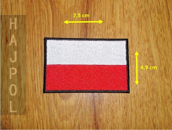 TERMO naszywka łata aplikacja POLSKA flaga symbol - Allegro.pl - Więcej niż aukcje.