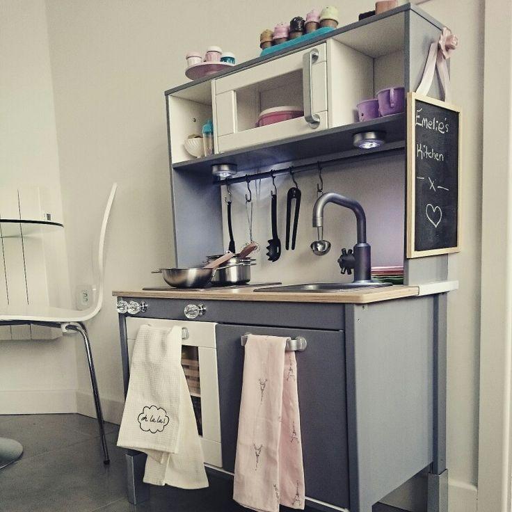 24 besten kaufladen spielk che bilder auf pinterest spielzeug spielk che und ikea k che. Black Bedroom Furniture Sets. Home Design Ideas