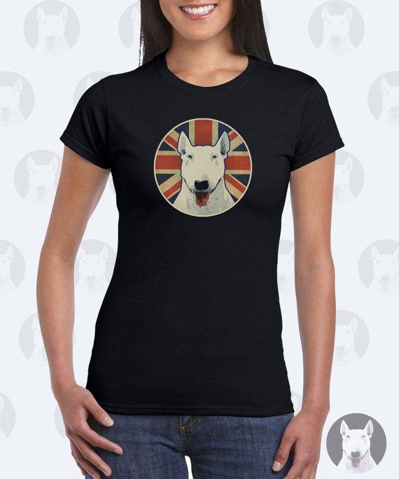 Ehi, ho trovato questa fantastica inserzione di Etsy su https://www.etsy.com/it/listing/464231948/inglese-del-bull-terrier-womens-t-shirt