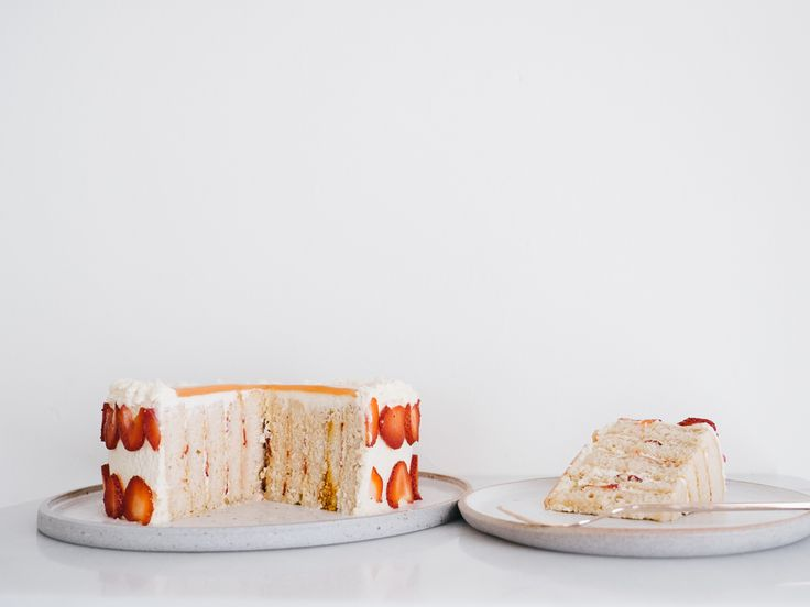 Strawberry Guava Chiffon Cake Recipe — Fix Feast Flair