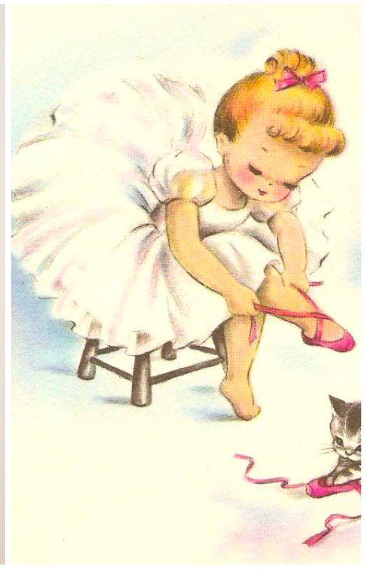 Digital download. Vintage graphic digital image vintage ballerina taken from…