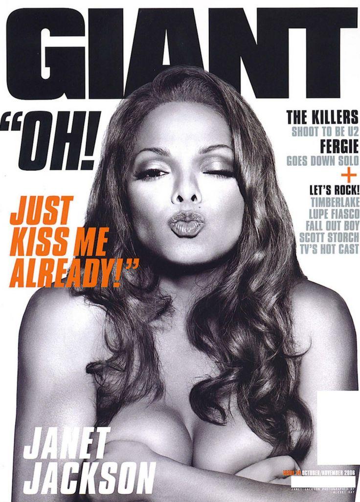 Janet Jackson Giant Magazine Cover  janet Jackson
