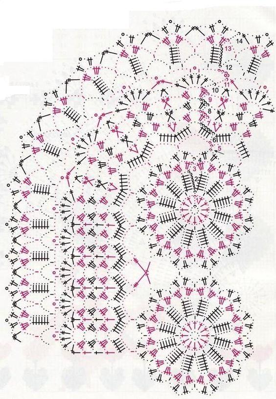 Kira crochet: Crocheted scheme no. 667
