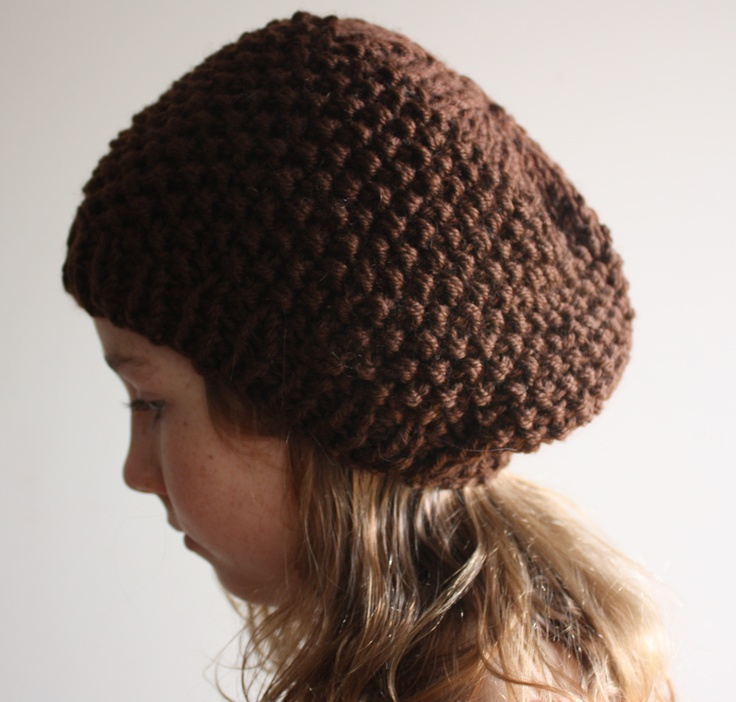 Knitted wool hat  By Hill and Vale Designs