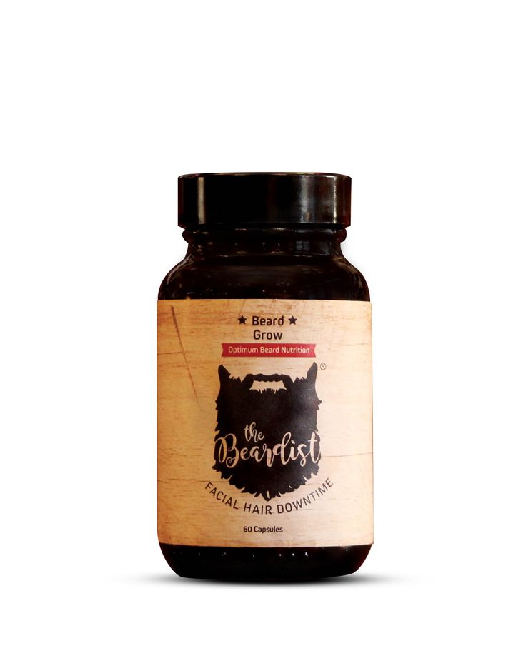 Beard Grow – Nutrition  Beard Grow by The Beardistis designed to help yougrow facial hair, healthier – faster, stronger, softer and definitelybetter. It works by supplementing vital nutrients that help beardgrowth and quality, nutrients that most men's diets are deficient in.