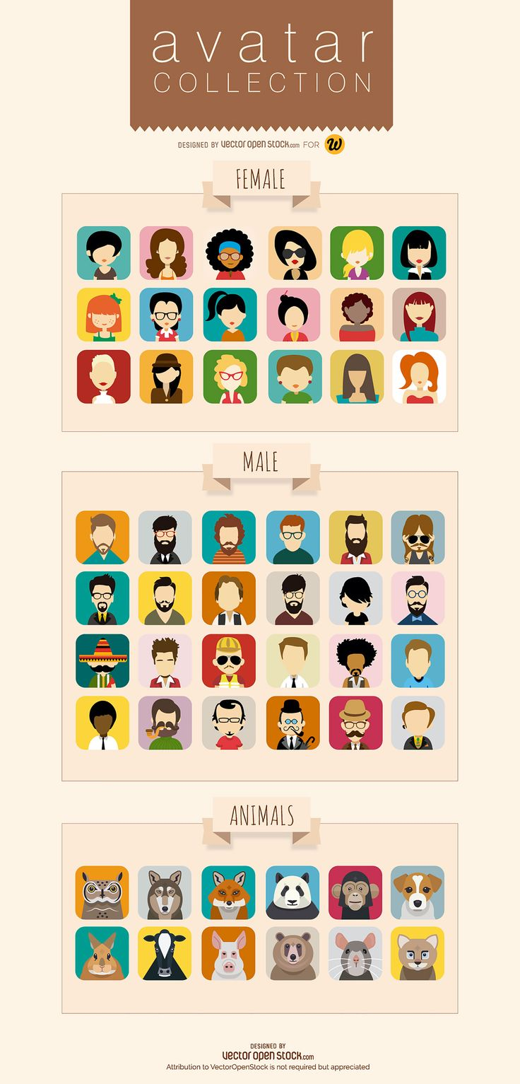 With the amount of time we spend online, it seems like more people know us by our avatars than by our faces these days. But who wants a dodgy iPhone selfie, when you can have one of these awesome vector avatars? This set of cool avatars, designed by vexels.comexclusively for WebdesignerDepot, features 54 stylish designs, sure to spruce up any social media profile. Is that Mia Wallace we spy there? Perhaps a young Benicio Del Toro? Surely that's Leonard McCoy? Whomever you see in the…