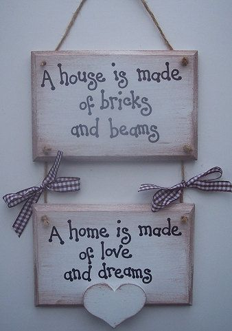 Two Tier Love and Dreams Plaque by PreciousParcelsUK on Etsy