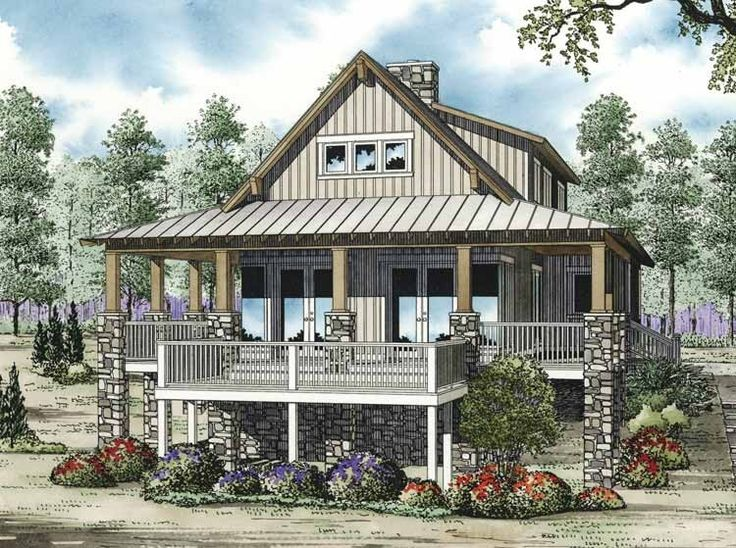 Mediterranean modern house plan with 2207 square feet and for Mediterranean country house