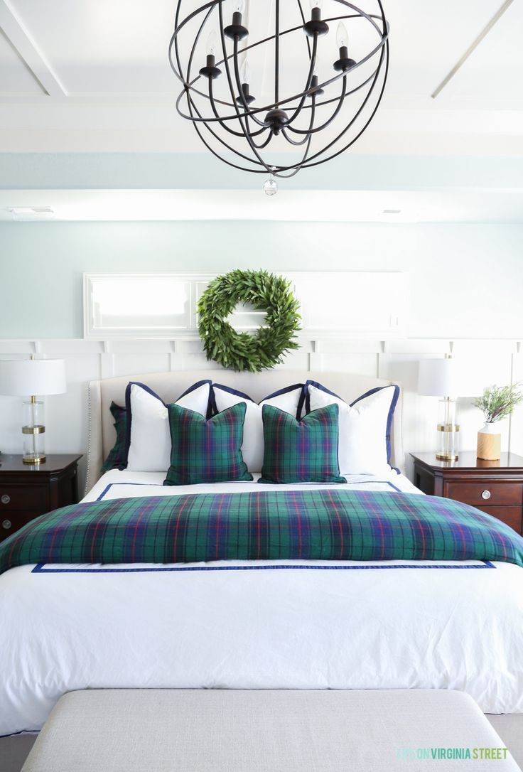 Christmas Home Tour Master Bedroom And Craft Room