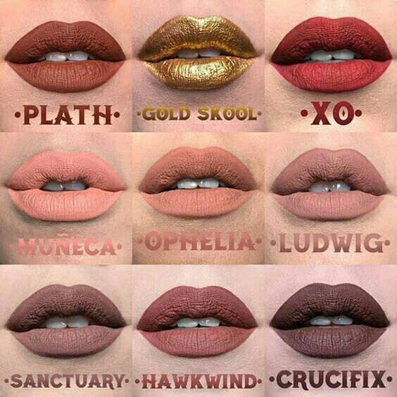 Kat von D new Everlasting liquid lipstick shades