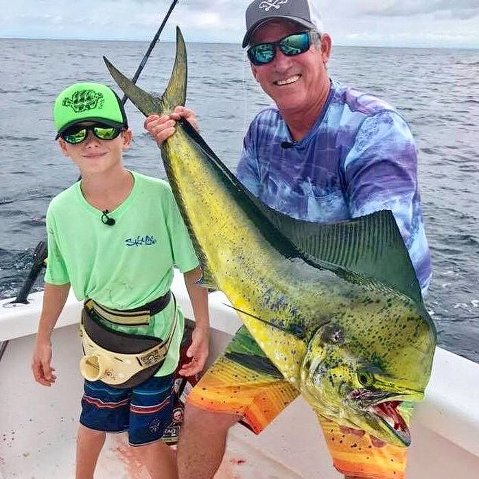 We have just finished a really special day aboard GOOD DAY today filming the next Costa Rica installment of 'Hook the Future' with Capt Don Dingman & crew. 10 year old's Lucas & Ronald from here in Quepos/Manuel Antonio did an awesome job catching Dorado & Tuna and more importantly had a blast out there on the water.   #jackpotsportfishing #hookthefuture