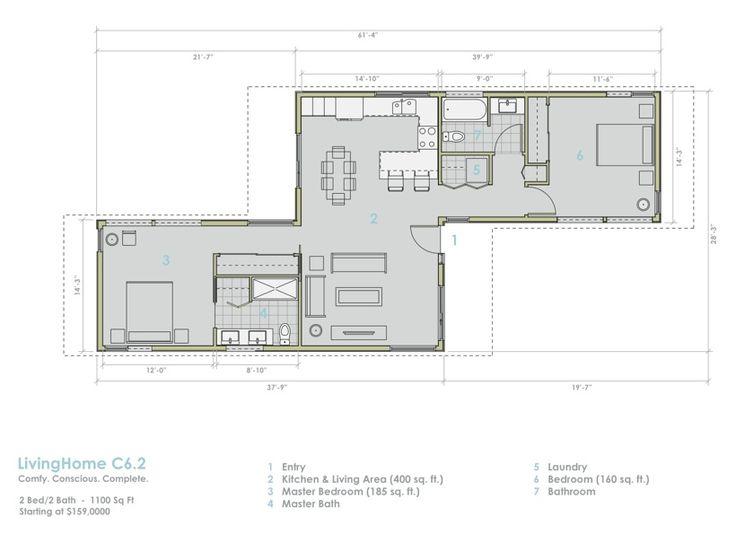 M s de 1000 ideas sobre casa prefabricada en pinterest - Casa prefabricada ecologica ...