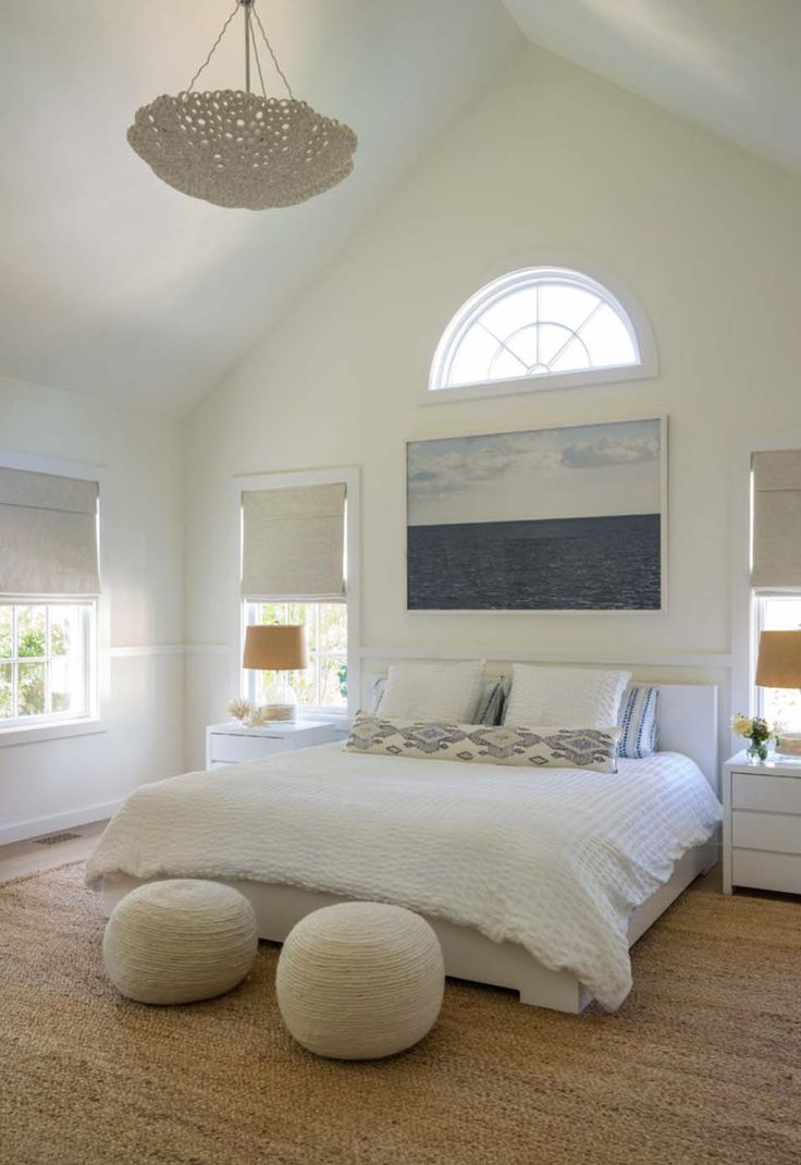 Beach cottage master bedroom - Beach House Bedroom In Cape Cod House
