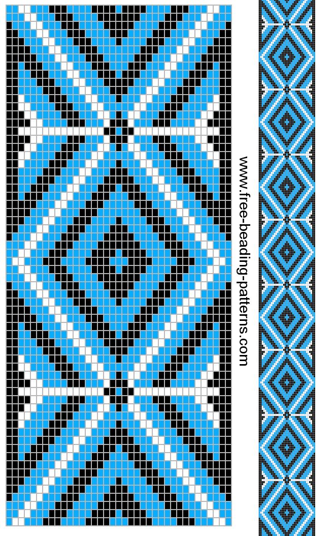 Beaded Guitar Strap Patterns images
