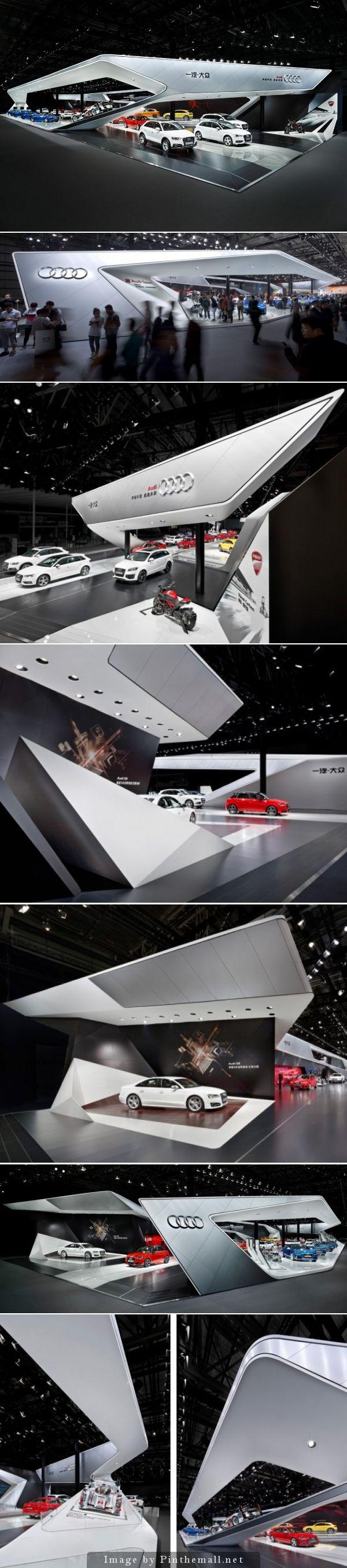 Audi exhibition design Auto China 2014 schmidhuber.de schmidhuber and partner - created via http://pinthemall.net