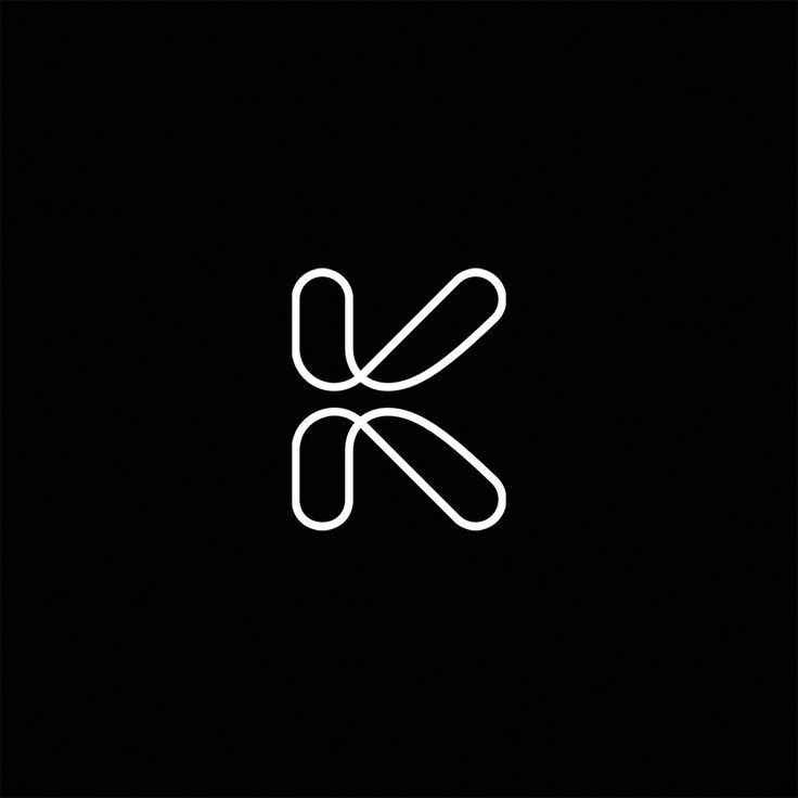 I like the idea of utilizing the structure of the K, but more as a background element in the branding rather than using as a logo