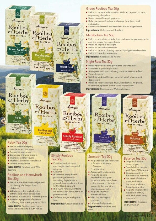 Herbal tea remedies I cannot go without.