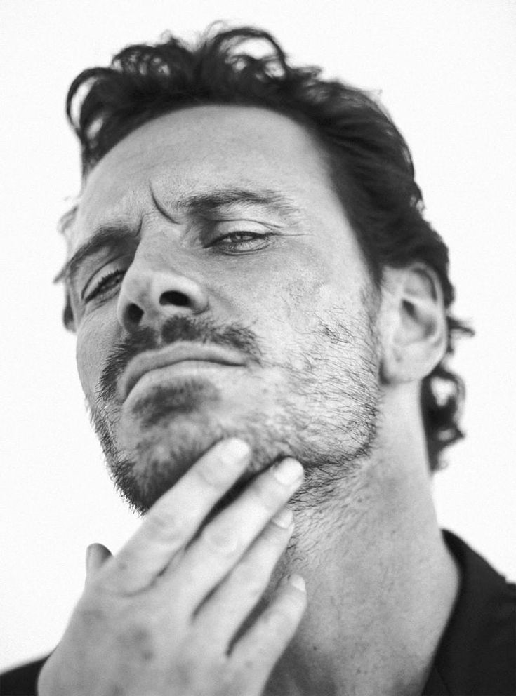 Yes Michael Fassbender I love the scruff!
