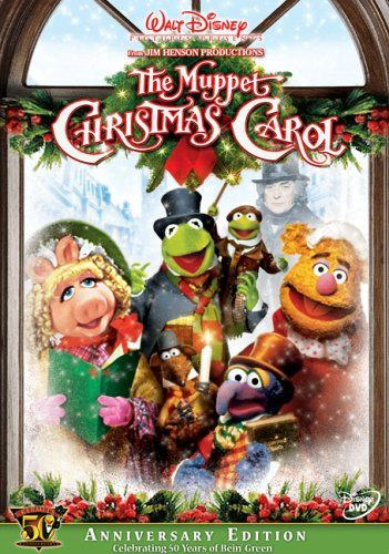 Christmas Movies - The Muppet Christmas Carol. Quite Possible the BEST Christmas movie in the history of all Christmas movies.