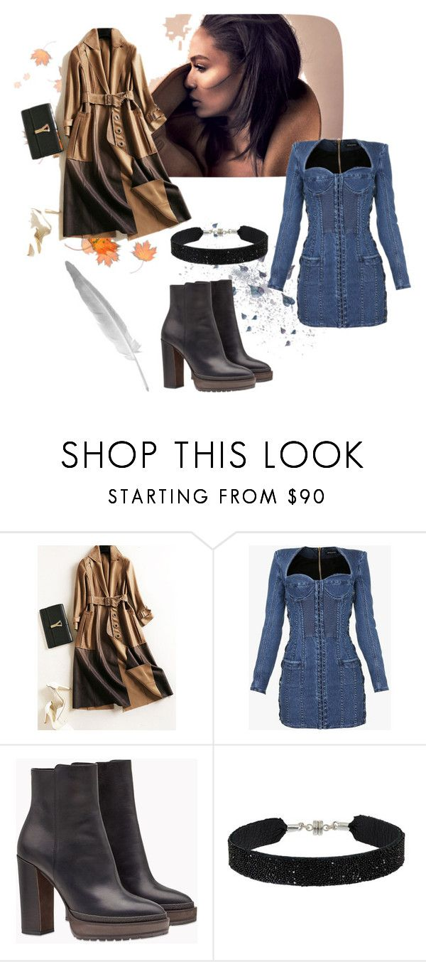 """""""Hello November"""" by women-miki ❤ liked on Polyvore featuring Balmain, Brunello Cucinelli and She.Rise"""