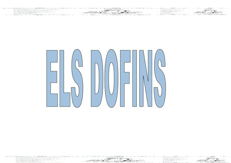 Projecte Els Dofins