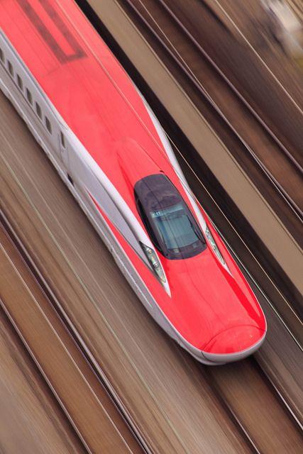 'Super Komachi' shinkansen / bullet train