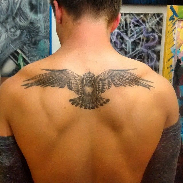 Anthony s Hawk his first tattoo still looking great
