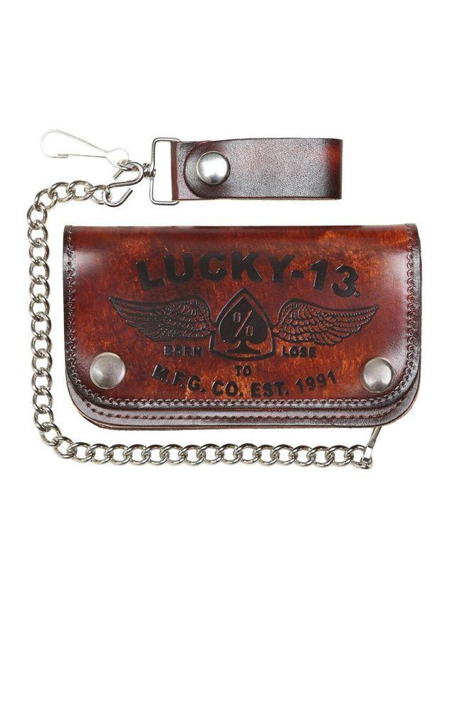 Lucky13 Herren Tasche The Iron Horse. Oldschool, Tattoo ,Rockabilly, Biker Style