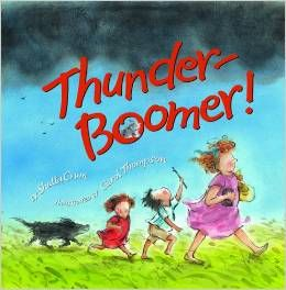 This book would make a great mentor text. It shows a small moment from start to finish, a storm on the family farm.  It describes in detail the sounds that are heard, the feelings the people and animals have, and what is happening during the storm.  This text also uses wonderful vocabulary and is told from the perspective of the child in the story. @Lori Pearson