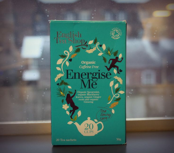 When it's cold and raining outside, Energise Me tea can give you the extra perk you need! Detox time #ETSdetox