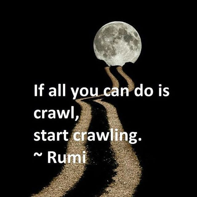 Do what you can! If all you can do is crawl, start crawling. - Rumi We are your personal evolution system, 15 minutes a day towards a better you!