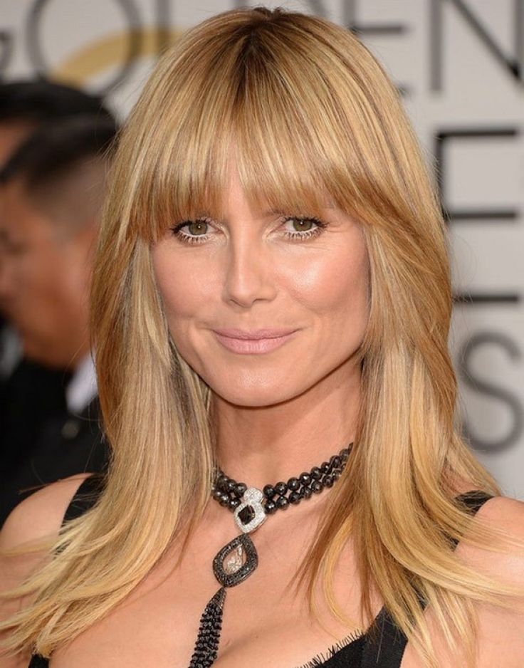 Fringes & Bangs Hairstyle Ideas
