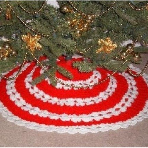 All stitches crochet christmas tree skirt pattern pdf