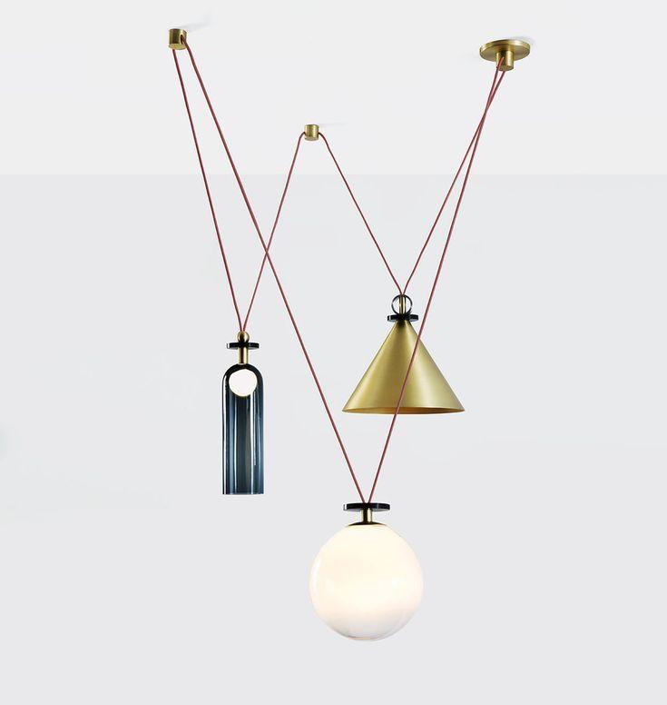 Ladies & Gentlemen Shape Up chandelier for Roll & Hill