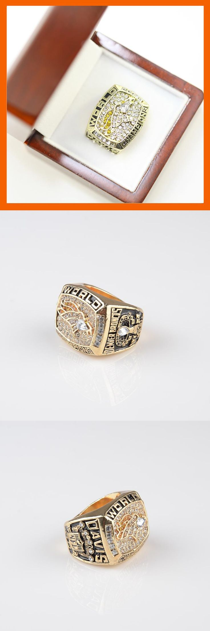 [Visit to Buy] 1997 DENVER BRONCOS SUPER BOWL XXXII WORLD CHAMPIONSHIP RING US SIZE  8 9 10 11 12 13 14 AVAILABLE #Advertisement