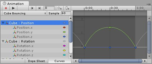 Using Animation Curves