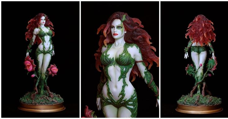Poison Ivy Web Exclusive Statue