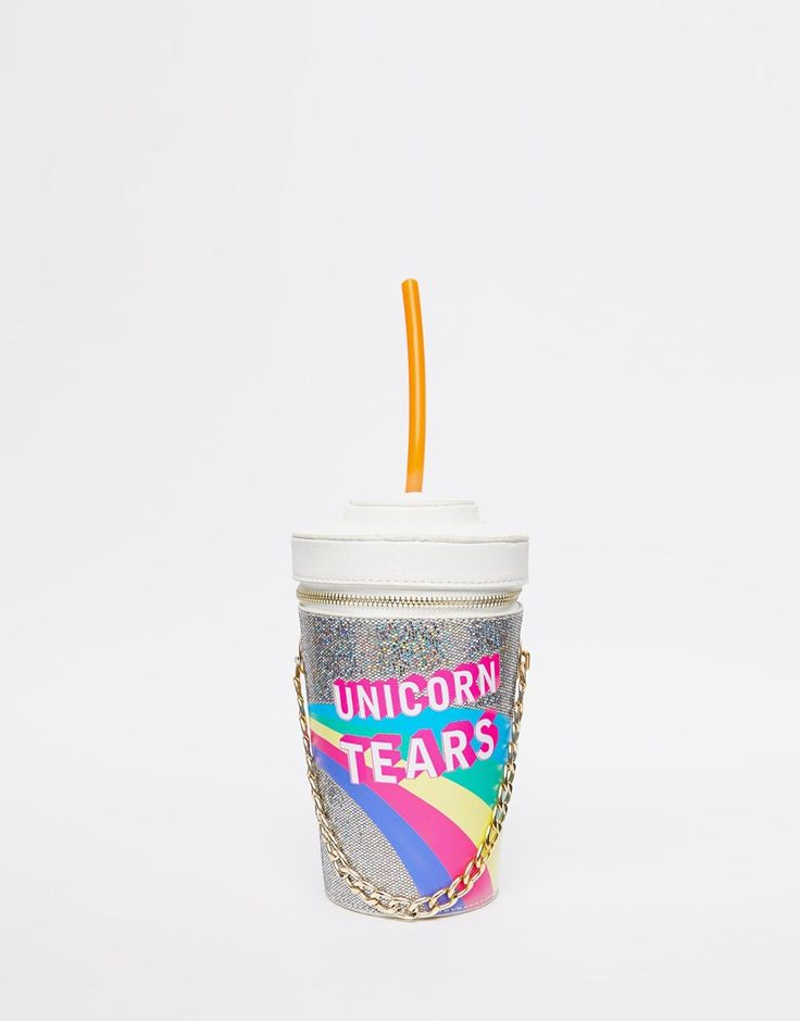Image 1 of Skinnydip Unicorn Tears Novelty Across Body Bag