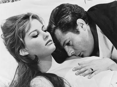 Claudia Cardinale e Marcello Mastroianni