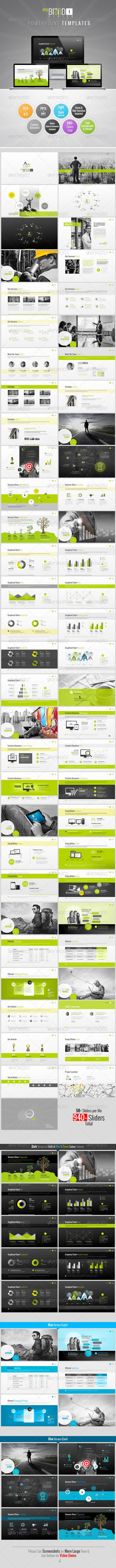ProBrand PowerPoint Templates - Creative Powerpoint Templates