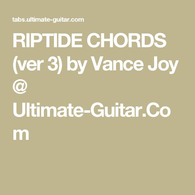 115 Best Chords Images On Pinterest