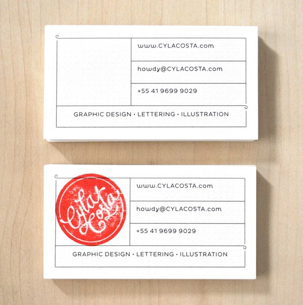 We Love Stamp Idea For Business Cards Not Sure If Corporate America Will Adopt The