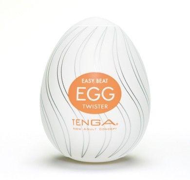 Tenga Egg Twister fra Tenga - Sexlegetøj leveret for blot 29 kr. - 4ushop.dk - TENGA - betyder elegant, raffineret, yndefuldt, pænt på japansk - beskriver Tenga produkterne perfekt. Tenga produkterne er stilfulde, inovative og sjove. TENGA giver en verden af ekstraordinære seksuelle oplevelser gennem top ingeniørkunst og fineste kvalitet materialer. TENGA produkter er det bedst sælgende sexlegetøj til mænd i Japan, og dens popularitet er øget hurtigt i resten af verden.